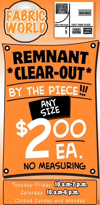 Remnant Clear-Out