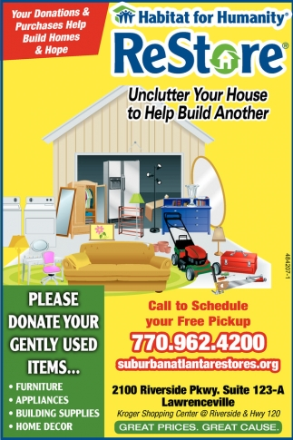 Your Donations & Purchases help build Homes and Hope