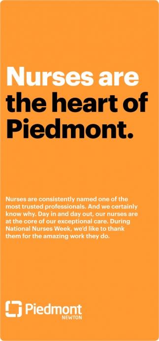Nurses are the heart of Piedmont