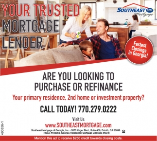 Your Trusted Mortgage Lender