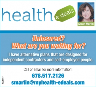 Uninsured? What are you waiting for?