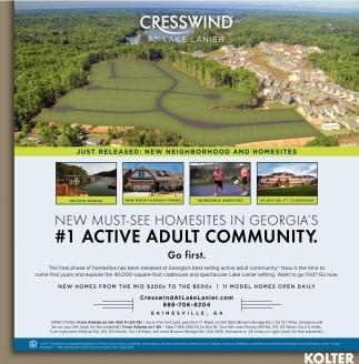 New Must-see Homesites in Georgia's #1