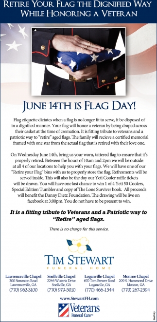 June 14th is Flag Day!