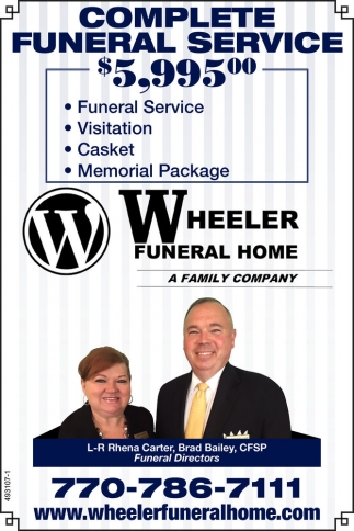 Complete Funeral Service