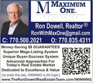 Ron Dowell, Realtor