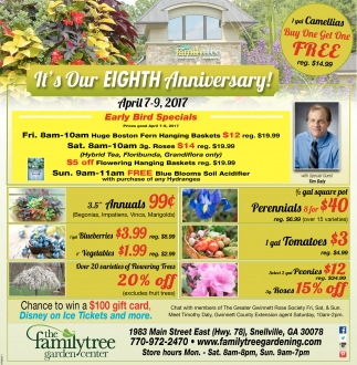 High Quality Itu0027s Our Eight Anniversary!, The Family Tree Garden Center
