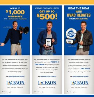 Get up to $1,000 in Rebates