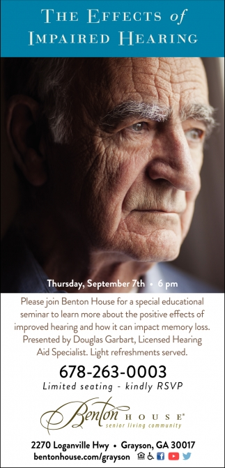 The Effects of Impaired Hearing