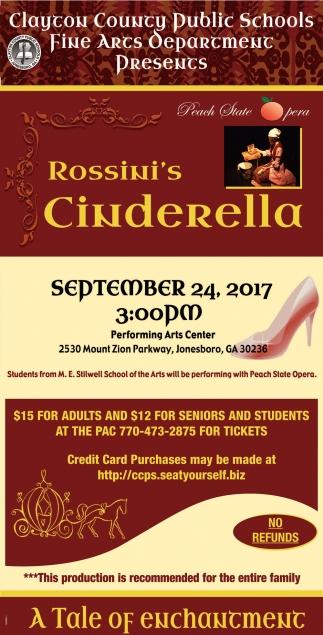 Rossini's Cinderella