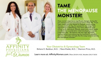 Take The Menopause Monster!