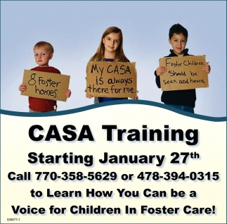 Learn How You Can be a Voice for Children in Foster Care