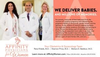 We Deliver Babies!
