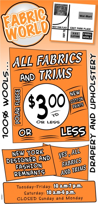 All Fabrics and Trims