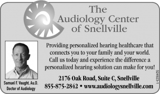 Providing Personalized Hearing Healthcare