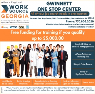 Gwinnett One Stop Center