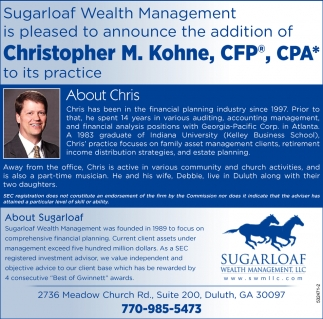 Christopher M. Kohne, CFP, CPA
