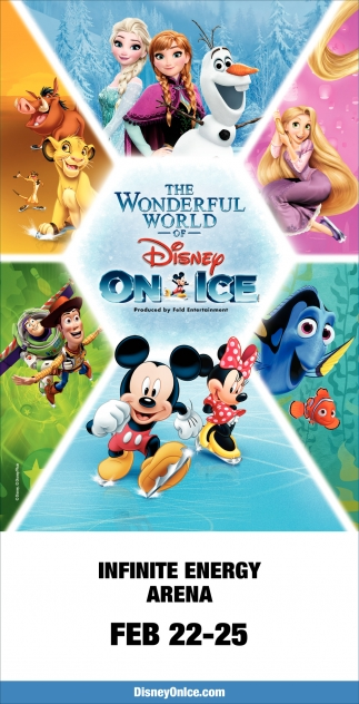 The wonderful world of Disney on Ice
