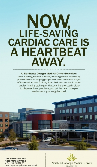 NOW, Life-Saving Cardiac Care is a Hearbeat Away
