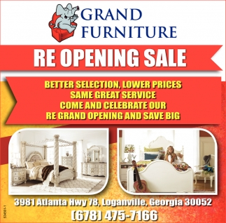 Charmant Ads For Grand Furniture In Loganville, GA
