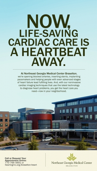 Now, Life-Saving Cardiac Care is a Heartbeat away