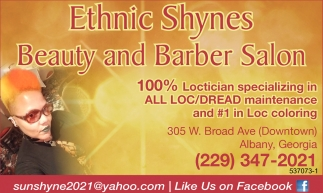 100% Loctician specializing in ALL LOC/DREAD maintenance and #1 in Loc coloring