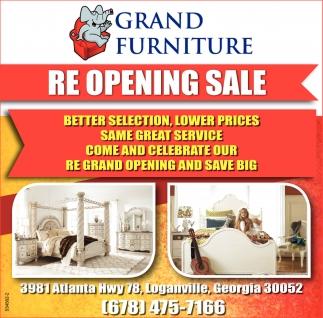 Re Opening Grand Furniture Loganville Ga