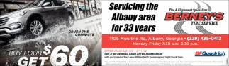 Servicing the Albany Area for 33 Years