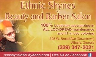 Ethnic Shynes