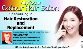 Hair Restoration And Replacement All About Colour Hair Salon