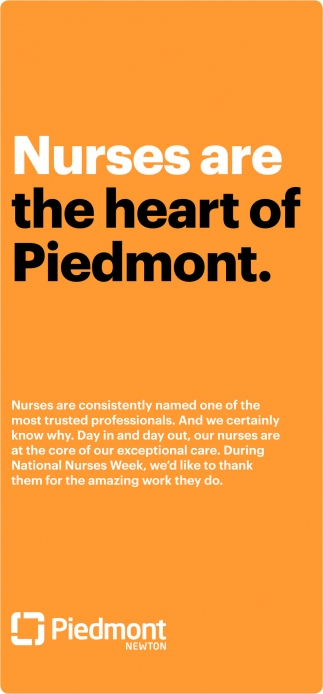 Nurses are the heart of Piedmont