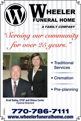 Serving Our Community for over 25 years