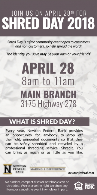 Shred Day 2018