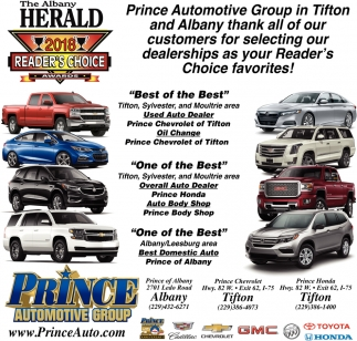 Thank All Of Our Customers For Selecting Our Dealerships As Your Readeru0027s  Choice Favorites!, Prince Automotive Group
