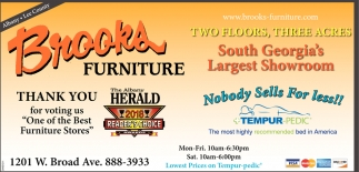 Thank You For Voting Us One Of The Best Furniture S Brooks