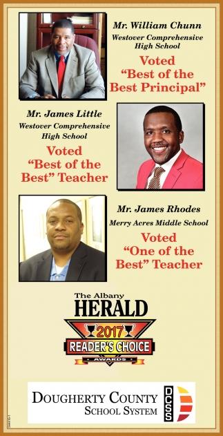 Best of the Best Principal & Teachers