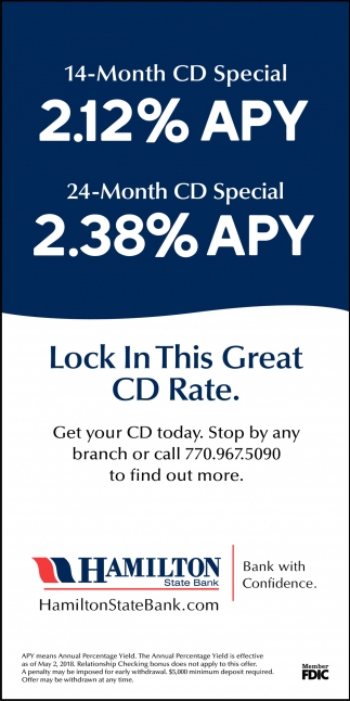 13-Month CD 1.26% APY