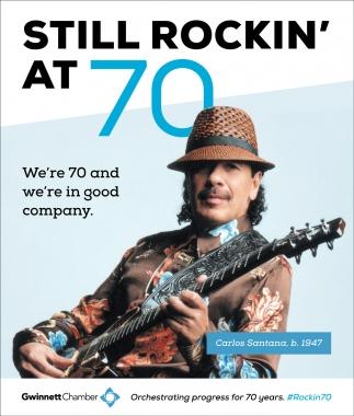 Still Rockin' at 70