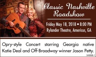 Classic Nashville Roadshow