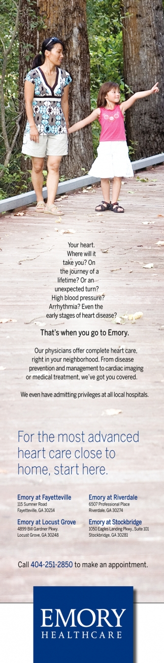For the Most Advanced Heart Care Close to Home