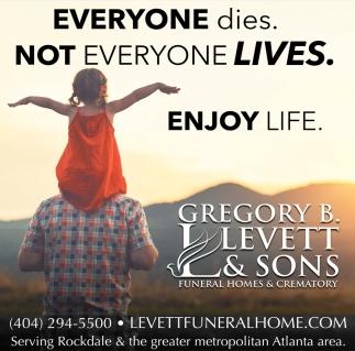Everyone Dies. Not Everyone Lives.