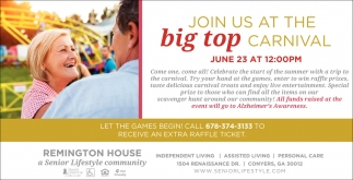Join Us at the Big Stop Carnival