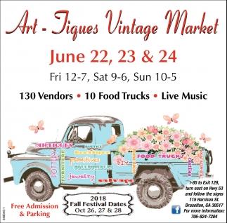 Art - Jiques Vintage Market