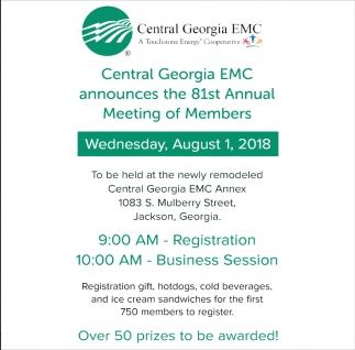 81st Annual Meeting of Members