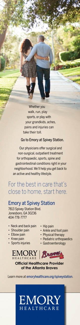 For the Best in Care that's Close to Home
