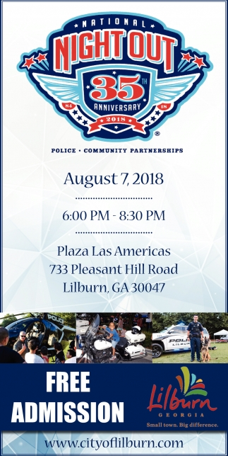 National Night Out 35 Anniversary