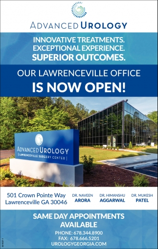 Our Lawrenceville Office is Now Open!