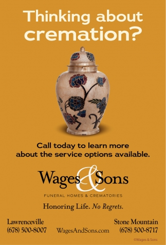 Thinking about cremation?