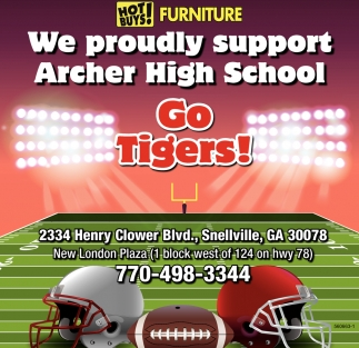 We Proudly Support Archer High School