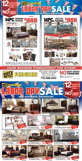Labor day sale hot buys furniture snellville ga
