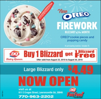 New Oreo Firework